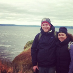 Us at Cape Split