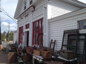 Great Village antique shop