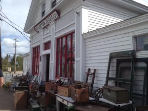 Great Village antique shop